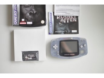 Gameboy Advance + Planet of The Apes CiB (Game Boy)