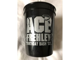 KISS Ace Frehley Plastic Cup. Super rare