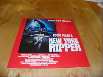 New York ripper - Letterboxedl collector's edition- 1st laserdisc