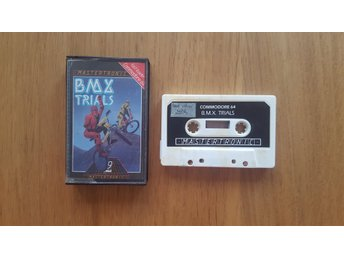 """BMX Trials"" till Commodore 64 / C64 (Mastertronic)"