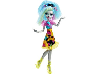 Monster High Silvi Timberwolf Electrified Hair Ghouls Doll Docka 30cm
