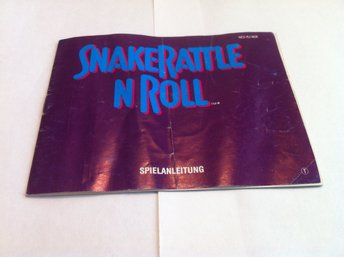 NES Manualer: Snake Rattle 'n' Roll  (End. manual -Tysk)