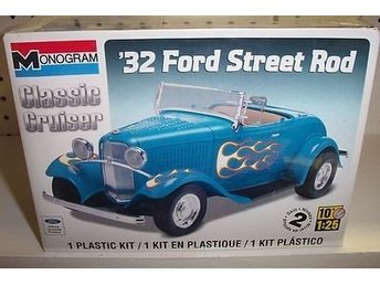 Revell Monogram 1/25 1932 Ford Street Rod