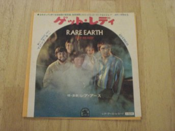"Rare Earth - Get Ready 7"" (JAPAN)"