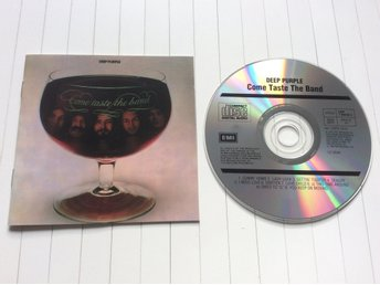 "Deep Purple CD "" come taste the band """
