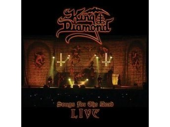 KING DIAMOND-Ny 2 LP-Songs For The Dead LIVE-LTD 500ex Clear Ghost White 180g