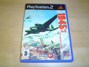 1945 1&2 Sony Playstation 2 PS2 *NYTT*