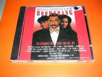 BOOMERANG - soundtrack - babyface,toni b,boyz II men,(cd)
