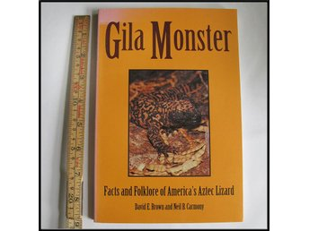 Gilamonster - Facts and Folklore of America's Aztec Lizard ~ Ödla, reptil, Gila