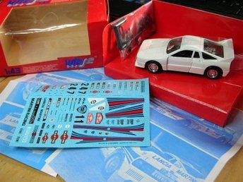 Lancia 037 Rally Monte Carlo 1983 M Alen, Walther Röhrl - Vitesse skala 1:43 - Vänge - Lancia 037 Rally Monte Carlo 1983 M Alen, Walther Röhrl - Vitesse skala 1:43 - Vänge