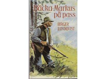 Bäcka-Markus på pass. Av Birger Lundqvist. - Lillpite - Bäcka-Markus på pass. Av Birger Lundqvist. - Lillpite