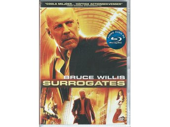 SURROGATES - BRUCE WILLIS   ( SVENSKT TEXT )