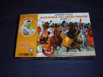 Hytty 2003 figurer skala 1:72 Alexander the Great Cavalry Macedonians Antiken