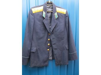 The blue pilot's officer's  jacket.