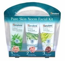 Himalaya Pure Skin Neem Facial Kit ( Face Wash + Scrub + Face Pack )