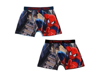 Spiderman Boxershorts 2-pack 6-8år