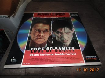 Edge of sanity - Double the terror. Double the fun! - 1st laserdisc