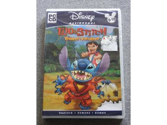 * Inplastad * Lilo & Stitch - Trubbel i Paradiset - PC (Windows 95/98/ME/XP)