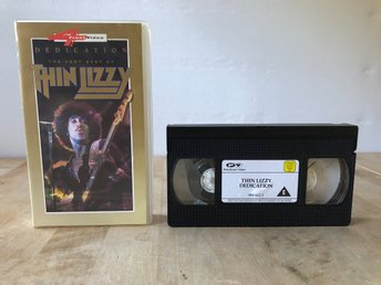 Dedication The very best of Thin Lizzy - VHS