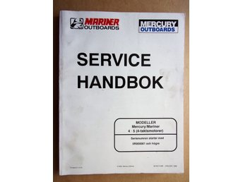 MERCURY OUTSBOARDS SERVICE HANDBOK
