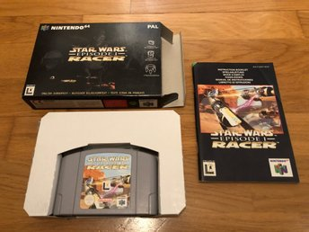 Star Wars Episode 1 Racer CIB - N64