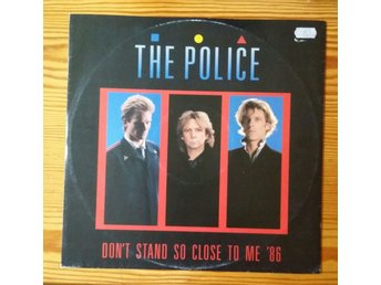 THE POLICE - MAXISINGEL - 1986 - DANCE MIX - EXCELLENT