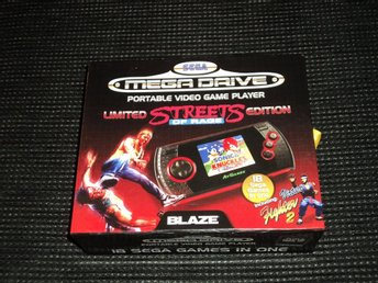 SEGA Mega Drive Portable Limited Streets of Rage Edition Video Game Player