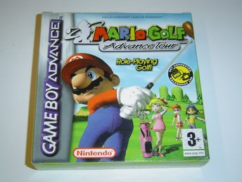 Mario Golf Advance Tour Nintendo Gameboy Advance GBA *NYTT*