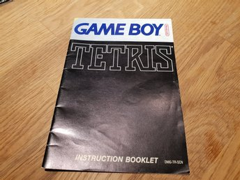 Tetris SCN Manual GAME BOY