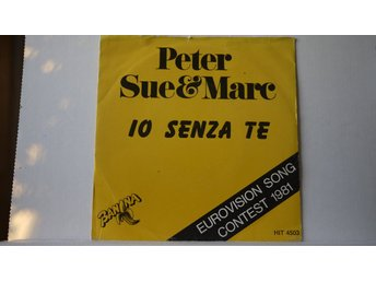 Peter, Sue & Marc - Io Senza Te       ESC   Mello
