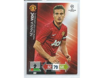 VIDIC - MANCHESTER UNITED - CHAMPIONS LEAGUE 2012-2013