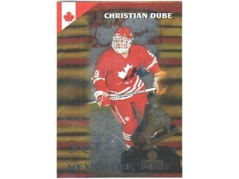 SCORE SELECT 94-95 Certified Gold # 166 DUBE Christian