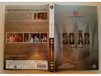 Melodifestivalen 50 år 50 favoriter DVD
