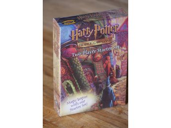 Harry Potter Two-Player Starter Set - 2 x 41 kort med mera - NY!