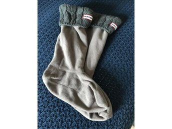 Hunter Cable Cuff Wells Socks