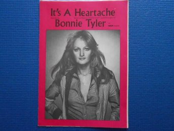 Notblad It´s a Heartache recorded by Bonnie Tyler o RGA Records