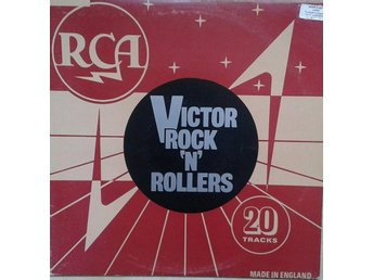 Various titel* Victor Rock 'N' Rollers* Rock & Roll, Rockabilly UK LP