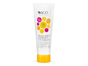 Solskyddscreme Sol kräm ACO Small Kids Sensitive Sun Cream Spf 30