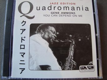 CD-BOX Gene Ammons - You can depend on me, 4CD.