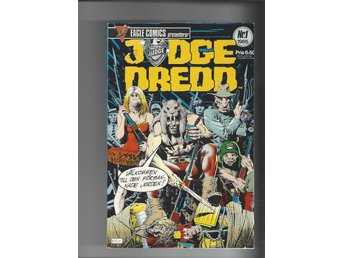 Judge Dredd 1 1985 skick vf