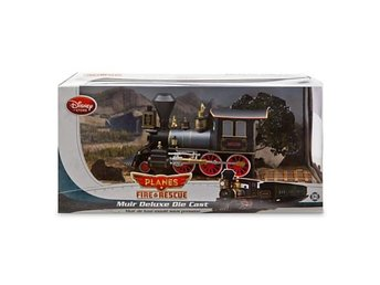 Disney Planes Fire & Rescue Muir Deluxe Die Cast Train !! - Huddinge - Disney Planes Fire & Rescue Muir Deluxe Die Cast Train !! - Huddinge