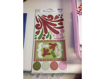 Heidi Grace chipboard shapes selfadhesive stickers