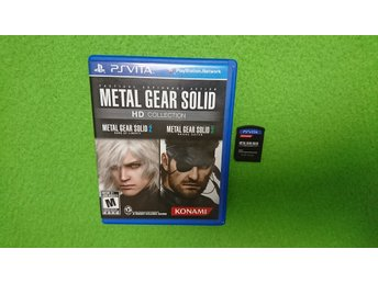 Metal Gear Solid HD Collection Playstation Vita PS