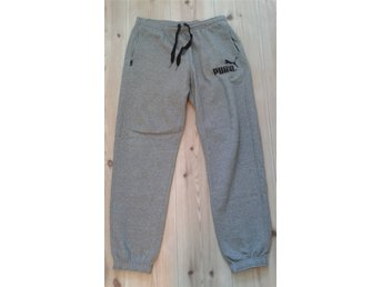 grå Puma sweatpants, L