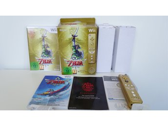 Zelda Skyward Sword - Limited Edition - Big Box - Nintendo Wii
