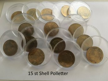 15 st Shell Polletter ..................................