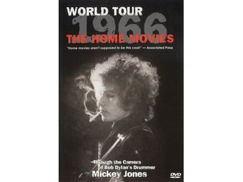 DVD Bob Dylan World Tour 1966 The home movies