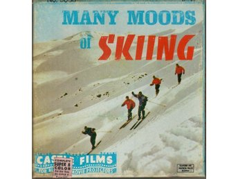 Super 8, färg - Many moods of skiing - Castle Films från 60-talet