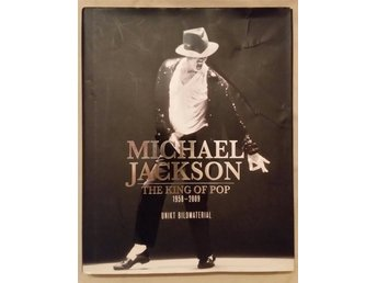 "Bok ""MICHEL JACKSON the king of pop 1958-2009 unikt bildmaterial Utsåld överallt"