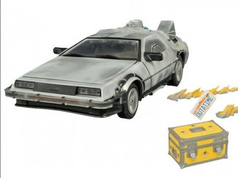 Back to the Future: Iced Time Machine Collector Set Diamond Direct, ny/oöppnad